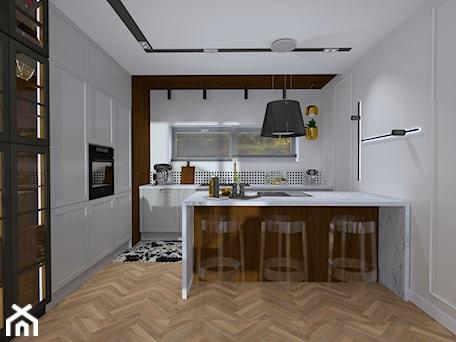 Aranżacje wnętrz - Kuchnia: Projekt wnętrza domu nowoczesnej stodoły - Kuchnia, styl klasyczny - MATO projekt. Przeglądaj, dodawaj i zapisuj najlepsze zdjęcia, pomysły i inspiracje designerskie. W bazie mamy już prawie milion fotografii!