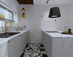Projekt wnętrza domu nowoczesnej stodoły - Kuchnia, styl nowoczesny - zdjęcie od MATO projekt - Homebook