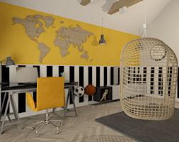 Pokój 8-latka - Pokój dziecka, styl industrialny - zdjęcie od MATO projekt - Homebook