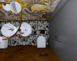 Projekt wnętrza domu nowoczesnej stodoły - Łazienka, styl nowoczesny - zdjęcie od MATO projekt - Homebook