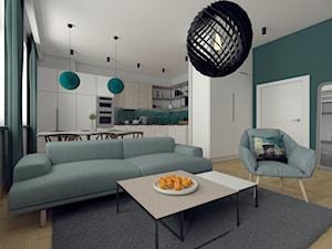 Butelkowa zieleń Format Home & Design - zdjęcie od Format Home & Design