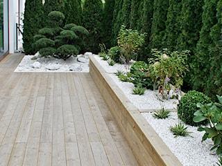 Ogród w Gdyni Orłowie - realizacja