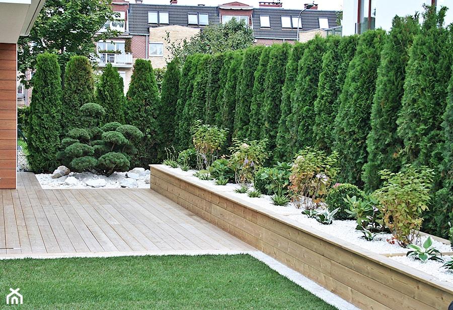 Ogród w Gdyni Orłowie - realizacja - Ogród, styl nowoczesny - zdjęcie od Green Pro Studio