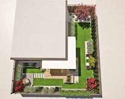 Projekt małego ogrodu w Gdańsku - Ogród, styl eklektyczny - zdjęcie od Green Pro Studio - Homebook