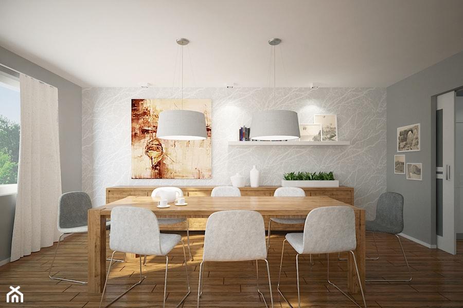 Salon, kuchnia, przedpokój w domu jednorodzinnym  Średnia   -> Kuchnia Przedpokój Inspiracje