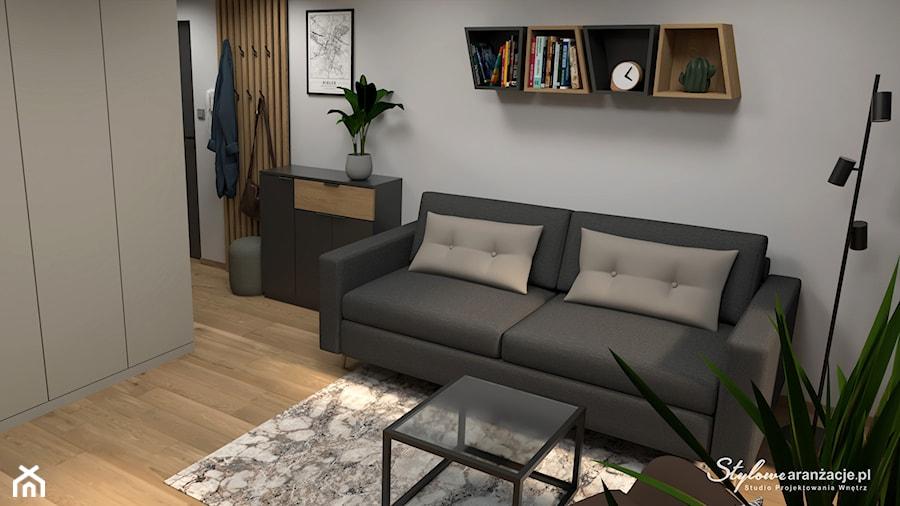 Nowoczesny salon - zdjęcie od STYLOWE ARANŻACJE Studio Projektowania Wnętrz