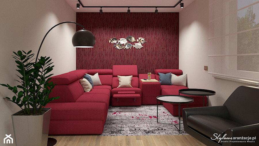 Pokój telewizyjny 01 - zdjęcie od STYLOWE ARANŻACJE Studio Projektowania Wnętrz