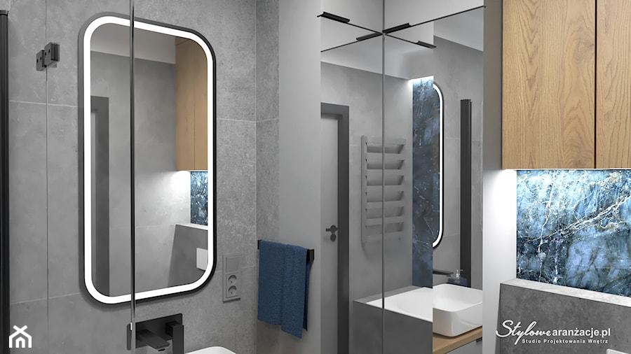 Nowoczesna łazienka - zdjęcie od STYLOWE ARANŻACJE Studio Projektowania Wnętrz