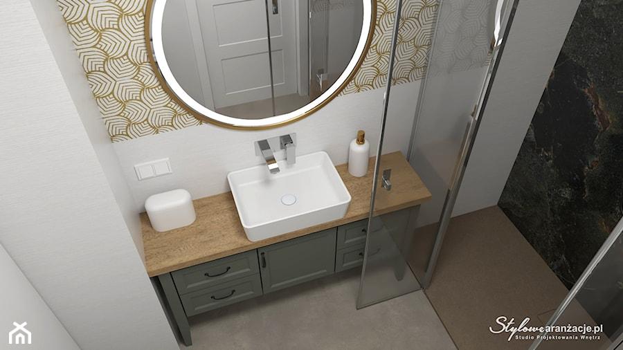 Łazienka 03 - zdjęcie od STYLOWE ARANŻACJE Studio Projektowania Wnętrz