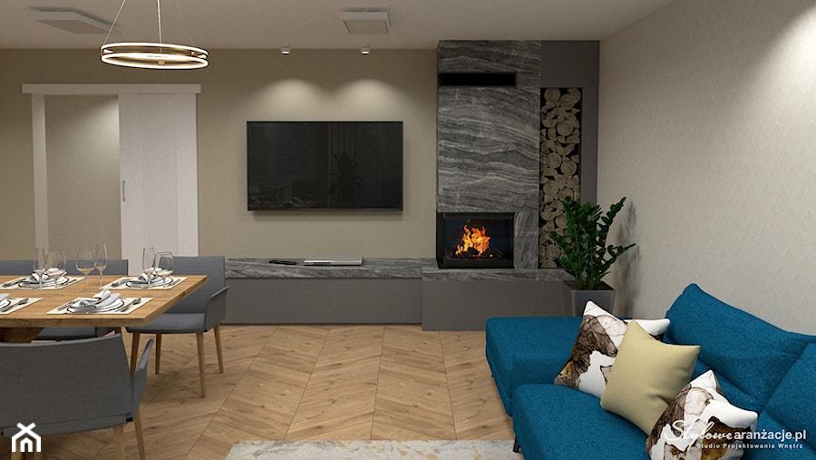 Nowoczesny salon 01 - zdjęcie od STYLOWE ARANŻACJE Studio Projektowania Wnętrz