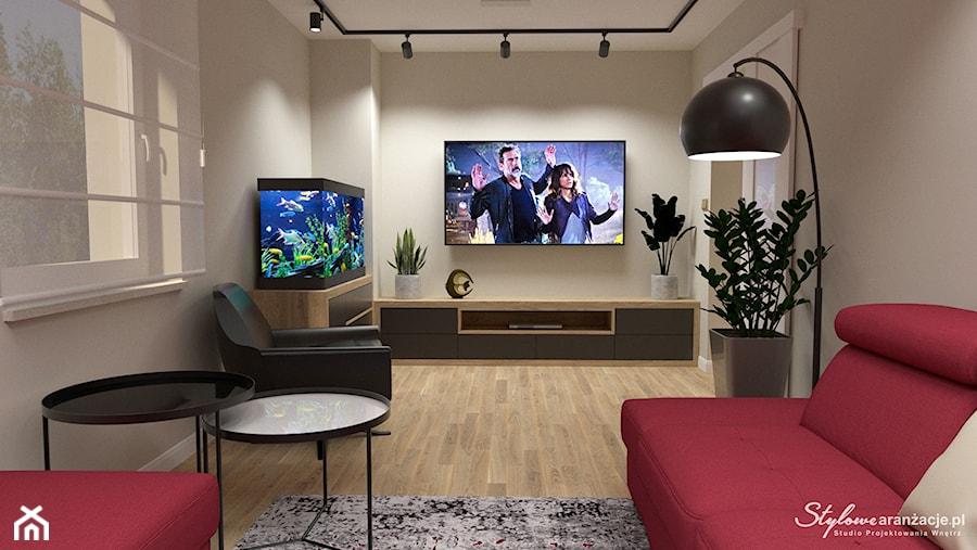 Pokój telewizyjny 02 - zdjęcie od STYLOWE ARANŻACJE Studio Projektowania Wnętrz