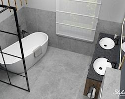 Nowoczesna łazienka - zdjęcie od STYLOWE ARANŻACJE Studio Projektowania Wnętrz - Homebook