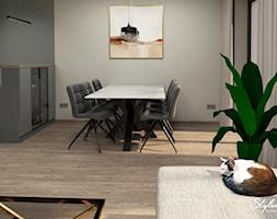 Nowoczesna+jadalnia+-+zdj%C4%99cie+od+STYLOWE+ARAN%C5%BBACJE+Studio+Projektowania+Wn%C4%99trz