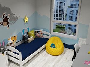 Pokój dla chłopca (3 lata) - wizualizacja 1 - zdjęcie od STYLOWE ARANŻACJE Studio Projektowania Wnętrz