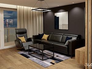 Aranżacja mieszkania z nowoczesnym oświetleniem