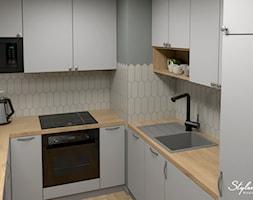 Nowoczesna kuchnia - zdjęcie od STYLOWE ARANŻACJE Studio Projektowania Wnętrz - Homebook
