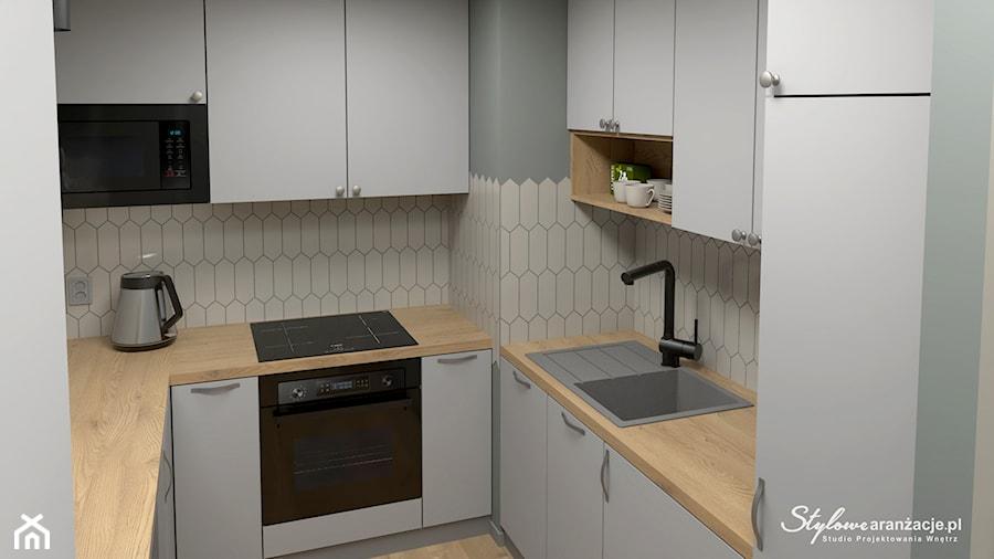 Nowoczesna kuchnia - zdjęcie od STYLOWE ARANŻACJE Studio Projektowania Wnętrz