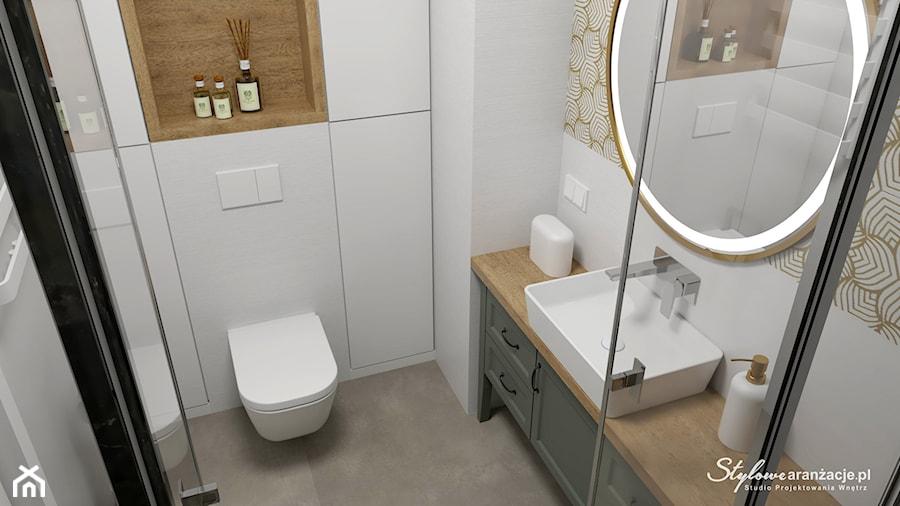 Łazienka 01 - zdjęcie od STYLOWE ARANŻACJE Studio Projektowania Wnętrz