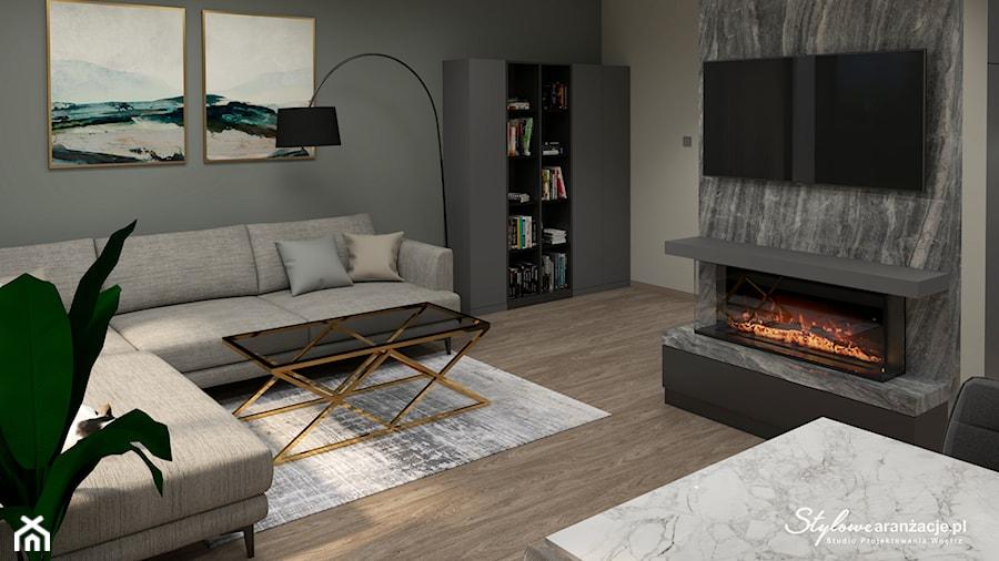 Salon - zdjęcie od STYLOWE ARANŻACJE Studio Projektowania Wnętrz