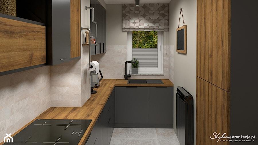 Kuchnia loft 03 - zdjęcie od STYLOWE ARANŻACJE Studio Projektowania Wnętrz