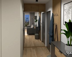 Wejście do mieszkania - zdjęcie od STYLOWE ARANŻACJE Studio Projektowania Wnętrz - Homebook