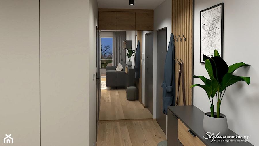 Wejście do mieszkania - zdjęcie od STYLOWE ARANŻACJE Studio Projektowania Wnętrz