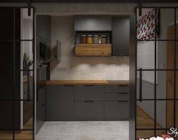 Kuchnia+loft+01+-+zdj%C4%99cie+od+STYLOWE+ARAN%C5%BBACJE+Studio+Projektowania+Wn%C4%99trz