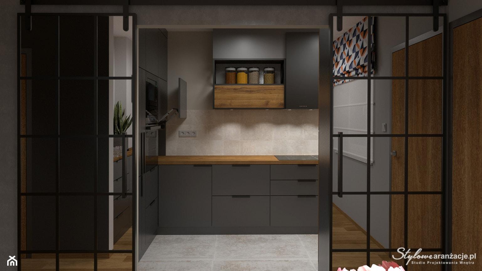 Kuchnia loft 01 - zdjęcie od STYLOWE ARANŻACJE Studio Projektowania Wnętrz - Homebook