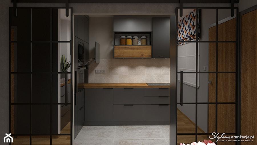 Kuchnia loft 01 - zdjęcie od STYLOWE ARANŻACJE Studio Projektowania Wnętrz