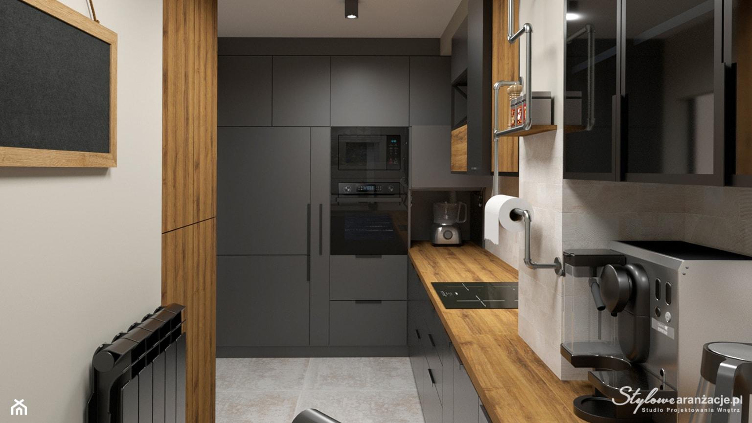 Kuchnia loft 02 - zdjęcie od STYLOWE ARANŻACJE Studio Projektowania Wnętrz - Homebook