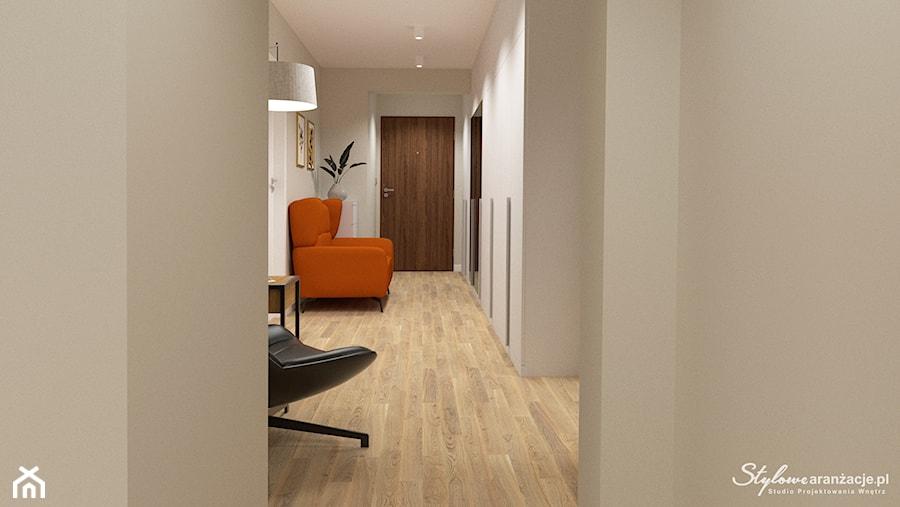 Elegancki korytarz 02 - zdjęcie od STYLOWE ARANŻACJE Studio Projektowania Wnętrz