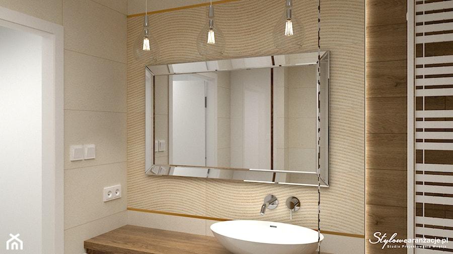 Nowoczesna łazienka 06 - zdjęcie od STYLOWE ARANŻACJE Studio Projektowania Wnętrz