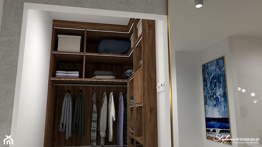 Nowoczesna garderoba 03 - zdjęcie od STYLOWE ARANŻACJE Studio Projektowania Wnętrz