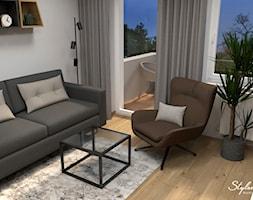 Nowoczesny salon - zdjęcie od STYLOWE ARANŻACJE Studio Projektowania Wnętrz - Homebook