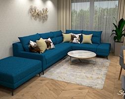Nowoczesny+salon+02+-+zdj%C4%99cie+od+STYLOWE+ARAN%C5%BBACJE+Studio+Projektowania+Wn%C4%99trz