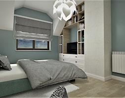 Sypialnia gościnna - zdjęcie od Pracownia Projektowa Ładne Wnętrza