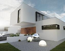Nowoczesny+projekt+domu+jednorodzinnego+-+zdj%C4%99cie+od+BIAMS+Budownictwo+i+Architektura+Marcin+Sieradzki+-+projektant%2C+architekt