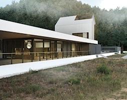 Projekt+modernistycznego+budynku+-+zdj%C4%99cie+od+BIAMS+Budownictwo+i+Architektura+Marcin+Sieradzki+-+projektant%2C+architekt