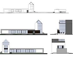 Elewacja+nowoczesnego+domu+jednorodzinnego+-+zdj%C4%99cie+od+BIAMS+Budownictwo+i+Architektura+Marcin+Sieradzki+-+projektant%2C+architekt