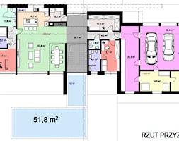 Rzut+przyziemia+w+dom+jednorodzinnym+-+parter+-+zdj%C4%99cie+od+BIAMS+Budownictwo+i+Architektura+Marcin+Sieradzki+-+projektant%2C+architekt