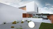 Minimalistyczny dom parterowy