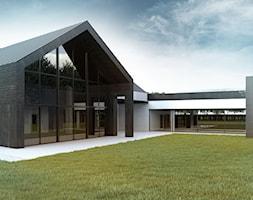 Dom+jednorodzinny+z+dachem+dwuspadowym+-+zdj%C4%99cie+od+BIAMS+Budownictwo+i+Architektura+Marcin+Sieradzki+-+projektant%2C+architekt