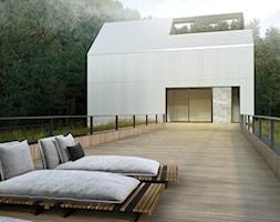 Minimalistyczny+dom+jednorodzinny+typu+stodo%C5%82a+-+zdj%C4%99cie+od+BIAMS+Budownictwo+i+Architektura+Marcin+Sieradzki+-+projektant%2C+architekt