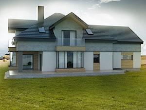 Projekt tradycyjnego domu jednorodzinnego pod Łodzią