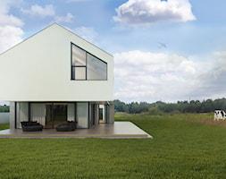 Projekt+domu+z+dachem+dwuspadowym+-+zdj%C4%99cie+od+BIAMS+Budownictwo+i+Architektura+Marcin+Sieradzki+-+projektant%2C+architekt