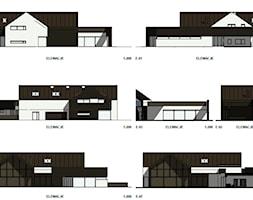 Rzuty+elewacji+domu+jednorodzinnego+-+zdj%C4%99cie+od+BIAMS+Budownictwo+i+Architektura+Marcin+Sieradzki+-+projektant%2C+architekt