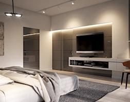 LK&1230 - wizualizacja sypialni - zdjęcie od LK&Projekt - Homebook