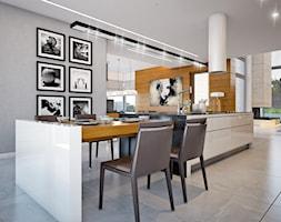LK&1230 - wizualizacja kuchni z jadalnią - zdjęcie od LK&Projekt - Homebook