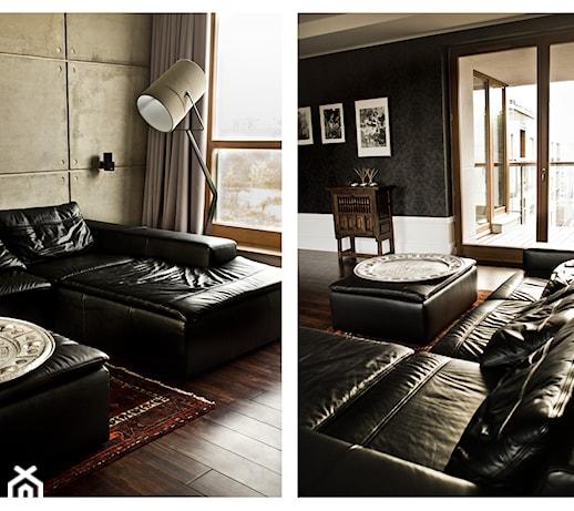 MIESZKANIE GDANSK  Salon, styl nowoczesny  zdjęcie od FABRYKA WNETRZ -> Salon Kuchni Gdansk