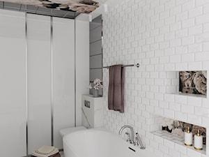 Łazienka Kwiaty na suficie - zdjęcie od MRÓZdesign